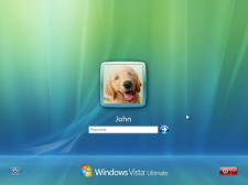 Login Windows Vista