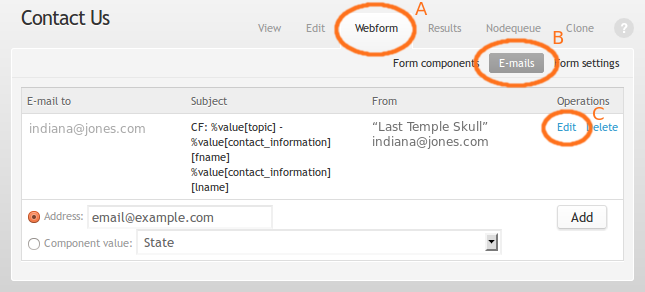 Drupal Webform Module: How To Customize the Subject Line