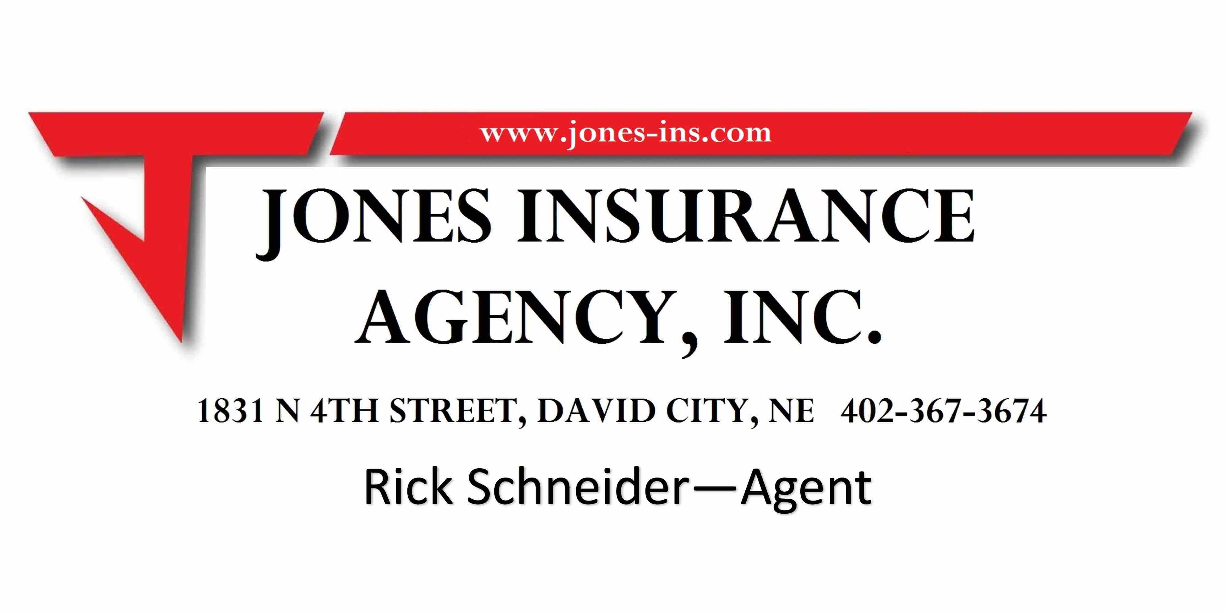 Jones Insurance Agency, Inc. – David City, Nebraska